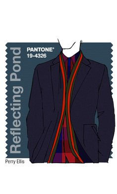 Houghton - Dried Herb, Desert Sage, Stormy Weather - Fall 2015 Pantone Fashion Color Report