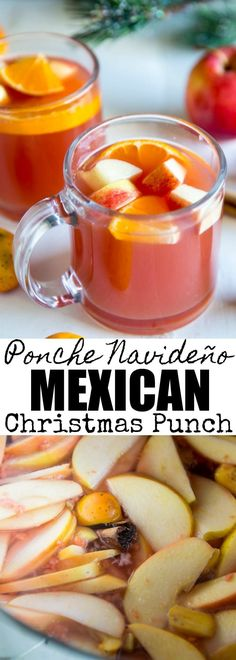 Mexican Christmas Punch (Ponche Navideño) is a war…