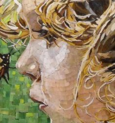 Mosaic Artist - Atsuko Laskaris - Secret Between You and Me - Face Detail