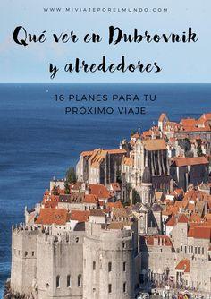 20 cosas qué ver en Dubrovnik y sus alrededores