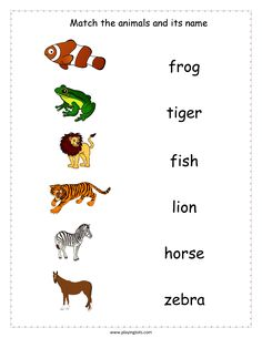 Free printable for kids (toddlers/preschoolers) flash cards/charts/worksheets/(file folder/busy bag/quiet time activities)(English/Tamil) to play and learn at home and classroom. English Activities For Kids, English Worksheets For Kindergarten, Learning English For Kids, English Lessons For Kids, Preschool Learning Activities, Kindergarten Reading, Time Activities, Animal Worksheets, Phonics Worksheets