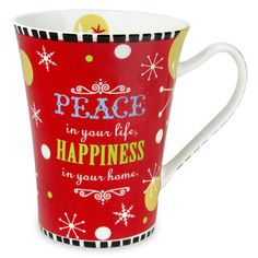 Mugs For Christmas Rs. 324 Surprise your loved one with this pretty mug that'll remind them of you every time they'll have a drink. Spread peace and happiness with Hallmark India. Shop Now : http://hallmarkcards.co.in/collections/christmas-gifts/products/christmas-mugs