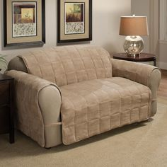 Suede Sofa Protector.
