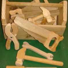 Kids wooden tool set - instructable
