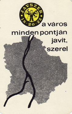 Hungarian Pocket Calendar Cards. Javszer Budapest. 1967.
