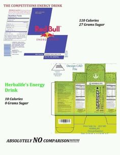 Herbalife Liftoff (Energy drink) compared to Red Bull. Make the switch to Liftoff by Herbalife and you'll never go back to Red Bull again! Herbalife Meal Plan, Herbalife Recipes, Herbalife Shake, Herbalife Nutrition, Herbalife Products, Herbalife Quotes, Herbalife Motivation, Herbalife Distributor, Challenges