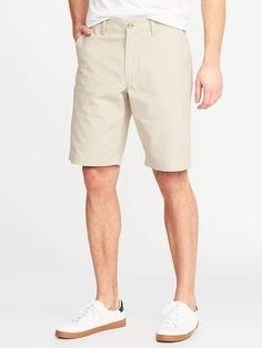 Old Navy Men's Lived-In Khaki Shorts - Inseam Clay Time Regular Size Khaki Shorts Outfit, Casual Shorts For Men, Man Shorts, Twin Outfits, Short Outfits, Navy Uniforms, Shop Old Navy, Girls Shopping, Clothes