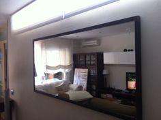 Espejos hechos a medida con marco de hierro Flat Screen, Homes, Live, Iron, Facts, Mirrors, Blood Plasma, Houses, Flatscreen