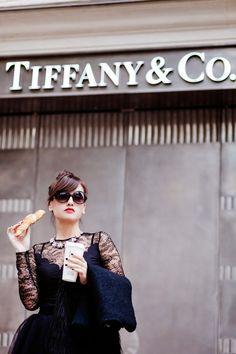 """Breakfast at Tiffany's"" ~ by Nikita Wong for Fashion Photography Blog ~ MeetMeInParee.com"
