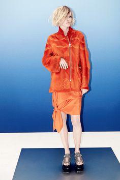 Acne Studios | Resort 2014 Collection | Natasa Vojnovic Modeling | Style.com