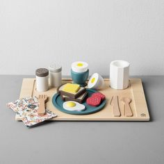 Find product information, ratings and reviews for Wooden Toy Breakfast Tray - Hearth & Hand™ with Magnolia online on Target.com.