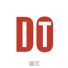 """Do it."" at exciting way to experiment with typefaces and the way on how to present it."