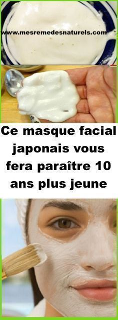 Ce masque facial japonais vous fera paraître 10 ans plus jeune Beauty Box, Beauty Secrets, Diy Beauty, Beauty Hacks, Masque Anti Ride, Body Challenge, Skin Treatments, Physique, Anti Aging