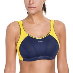 SYROKAN Women's High Impact Wire Free Non Padded Racerback Maximum Sports Bra♦️ SMS - F A S H I O N 💢👉🏿 http://www.sms.hr/products/syrokan-womens-high-impact-wire-free-non-padded-racerback-maximum-sports-bra/ US $12.14