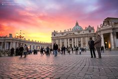 Don't you just love the sky in Rome!!!