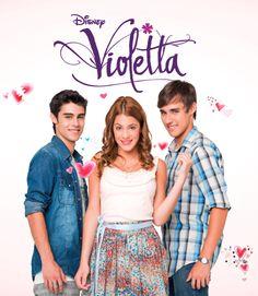 Invitaciones de Violetta para imprimir gratis.