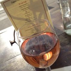 Château de Campuget Rosé 2011 @ Creperie Du Village - Crisp and beautiful and perfect for an afternoon in Aspen