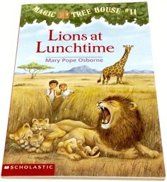 Lions At Lunchtime Magic Tree House Book 11 Mary Pope Osborne AR 3.0 Africa
