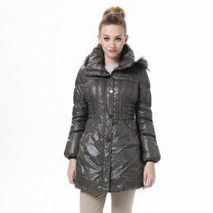 Bosideng Fashion Women's Casual Middle Length Dark Brownish Yellow Down Jackets BR2350 Bosideng. $117.80