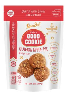 LesserEvil's That's a Good Cookie varieties are the perfect alternative to…