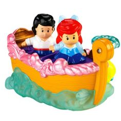 Disney Princess Ariel's Boat Ride by Little People® | BrandsLittlePeople | Fisher Price