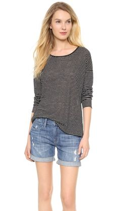 love this vince striped tee