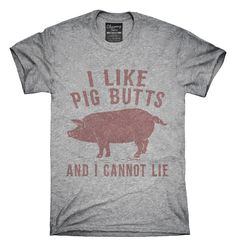 I Like Pig Butts and I Cannot Lie Fashion Mens T-Shirt and Hats Youth /& Adult T-Shirts
