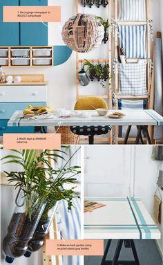 Decora con decoupage tu cocina Ikea http://ini.es/1r25xSc #CocinasIKEA, #DecorarConDecoupage