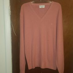 Christian Dior Vintage sweater Christian Dior Vintage pink sweater christian Dior Sweaters Crew & Scoop Necks