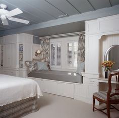 Duneseye - Beach Style - Bedroom - portland maine - by Sylco Cabinetry
