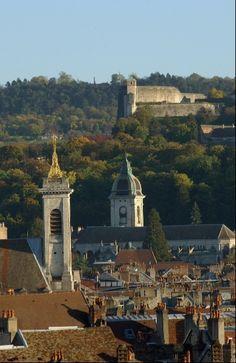 Besançon: Les toits de la ville
