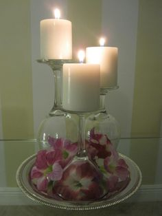 such a beautiful idea, and cheap!! DIY for under ten dollars. next special occasion at the house