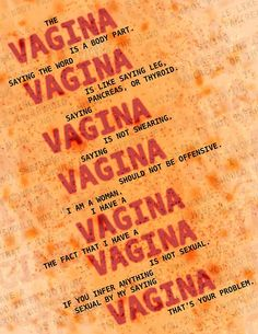 I don't. However I am inclined to be slightly prejudiced in favor of those who do. My anima and I get along well. // I have a vagina, how about you?