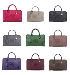 I NEED to have one in every colour!! #loewe #amazona