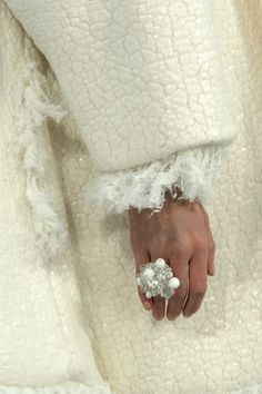 Chanel - cuff and coat detail