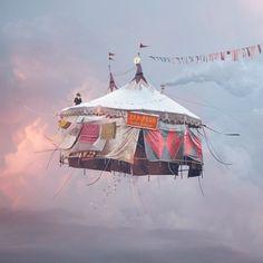 Cirque/Circus por Laurent Chehere