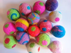 Cat Toy Ball  NEW Big Size  Needle Felted  One by ArtSincerely