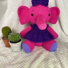 Crochet Pattern Elephant English/ Crochet Elephant PATTERN | Etsy Crochet Elephant Pattern, Crochet Doll Pattern, Crochet Patterns, Hello Kitty, Dinosaur Stuffed Animal, Bisquick, English, Dolls, Etsy