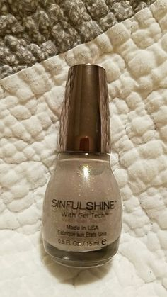 STACEY Sinful Colors Sinful Shine with gel tech in Prosecco NEW!