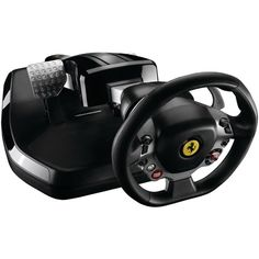 Thrustmaster 4460096 Ferrari Vibration GT Cockpit 458 Italia Edition - Be Best And Win The Race With The Best PC Steering Wheels Monitor For Photo Editing, Rubber Texture, Best Pc, Racing Wheel, Old Computers, Ferrari 458, Xbox 360, Video Game Console, Computer Accessories