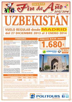 Fin de Año UZBEKISTAN, salida 27/12 desde Madrid (8d/6n) precio final 1.925€ ultimo minuto - http://zocotours.com/fin-de-ano-uzbekistan-salida-2712-desde-madrid-8d6n-precio-final-1-925e-ultimo-minuto-3/