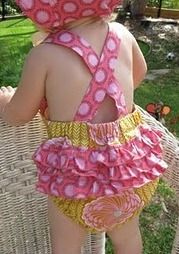 Free pattern: Ruffled sunsuit for baby girl · Sewing | CraftGossip.com