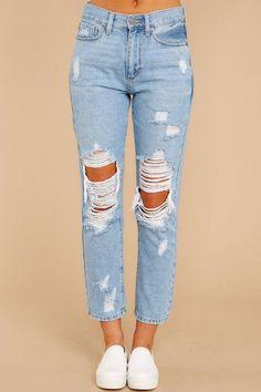 AKIRA Womens High Waist Ripped Knees Butt Slash Skinny Denim Jeans