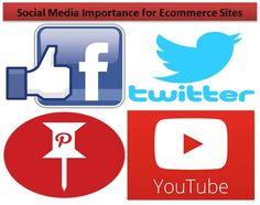 Social Media Importance for Ecommerce Sites  #socialmedia #socialmediasites