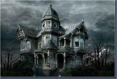 dibujos de castillos embrujados en pinterest - Buscar con Google