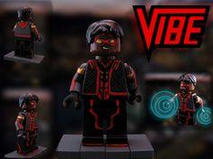 https://www.flickr.com/photos/130596390@N07/ Vibe from Flash #vibe #lego #minifig #custom #cisco #CW #ramon #Vibe #superheroes #justice #DC #IMC