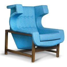 Voltaire Armchair by Sergio Rodrigues | ESPASSO