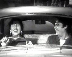 Two of Hindi Cinemas greatest icons, who eventually got married in real life. Kishore, a simple man, singer and shy actor, and Madhubala, a damsel of sorts, an actor, and beautiful like the first rays of the sun.