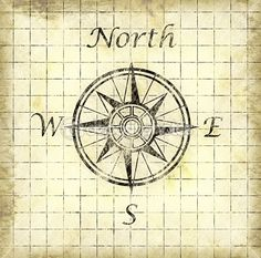 North arrow by Philip Morley