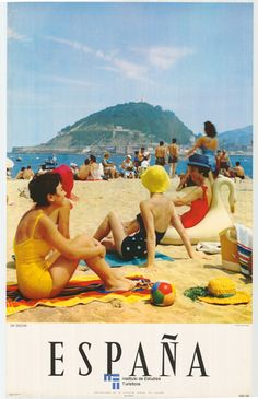 Vintage Travel Poster - Spain.